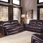 Recliners With Leather Design And White Fur Rug Of HTL Furniture Reviews