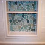 River Rock Tile Sheets For Bathroom Wall Racks