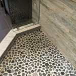 River Rock Tile Sheets On Shower Floor