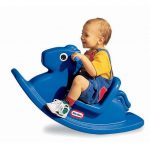 Rocking Horses For Toddlers With Blue Design Color