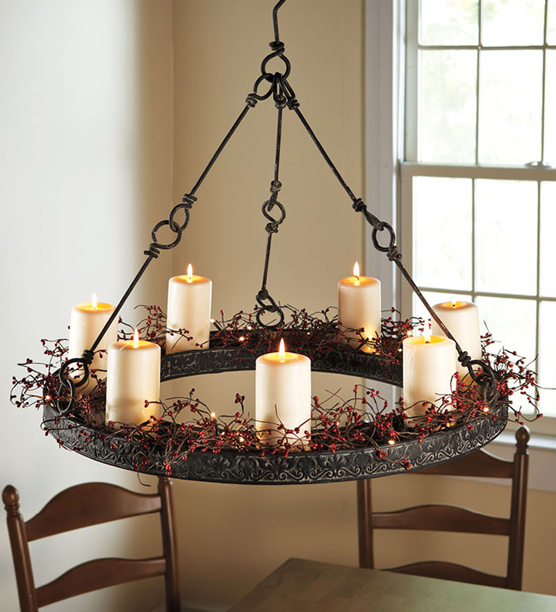 Beautiful Real Candle Chandelier