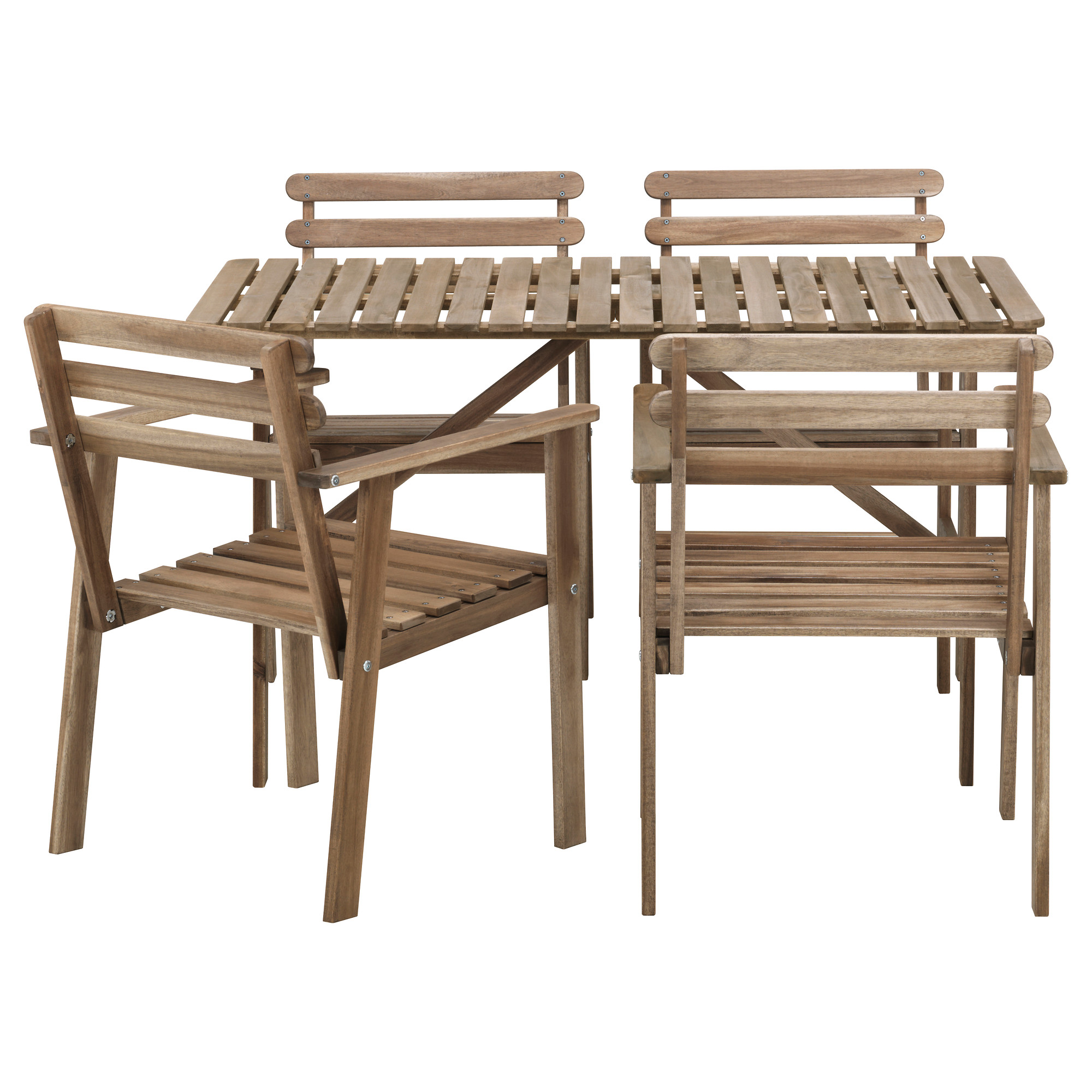 Beautiful outdoor bistro set ikea homesfeed for Set de table ikea