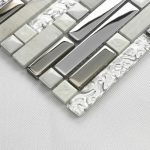 Sample of decorative mirror tiles