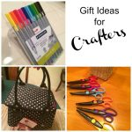 Scissors Pens And Bags Are Gift Ideas For Crafters