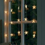 Shining star window decoration idea  for Christmas