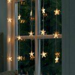 Shining Star Window Decoration Idea  For Christmas