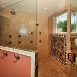 Shower Ideas For Master Bathroom With Decorative Tiles