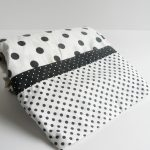 Simple Black And White Polka Dot Sheets