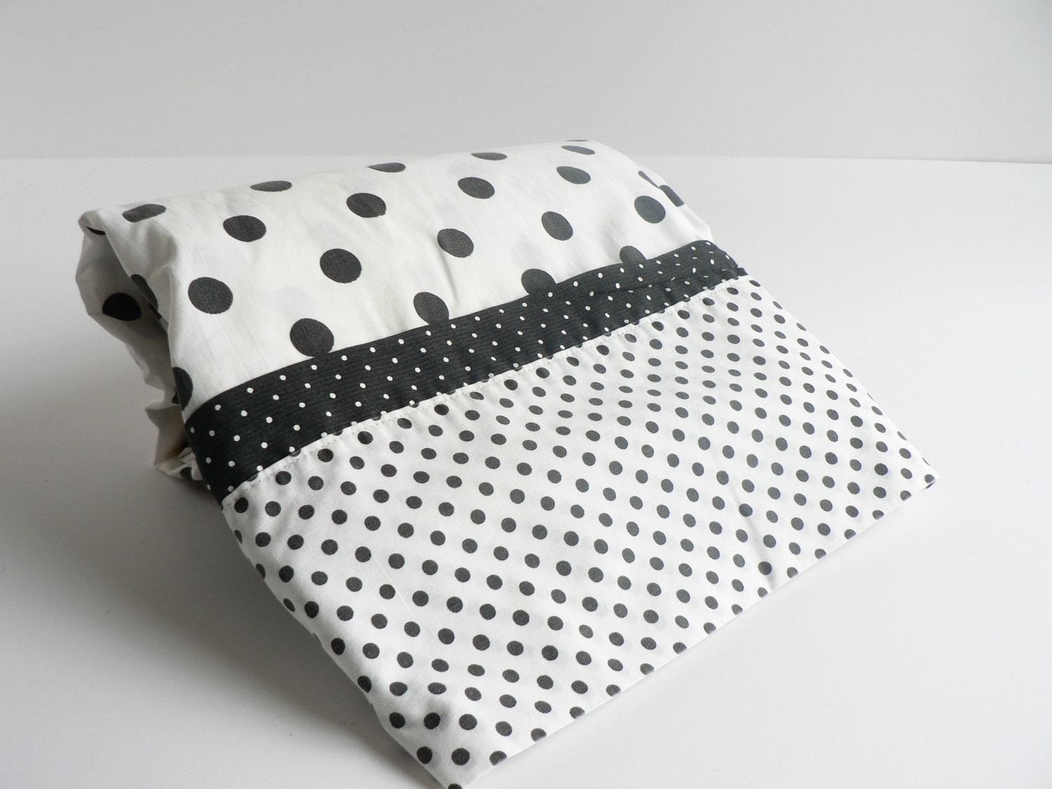 Dining Room Chair Cover Pattern Unique Black And White Polka Dot Sheets Homesfeed