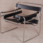 Simple Black Wassily Chair Reproduction