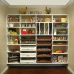 Simple Wall Mounted Of Walk In Pantry Shelving Systems