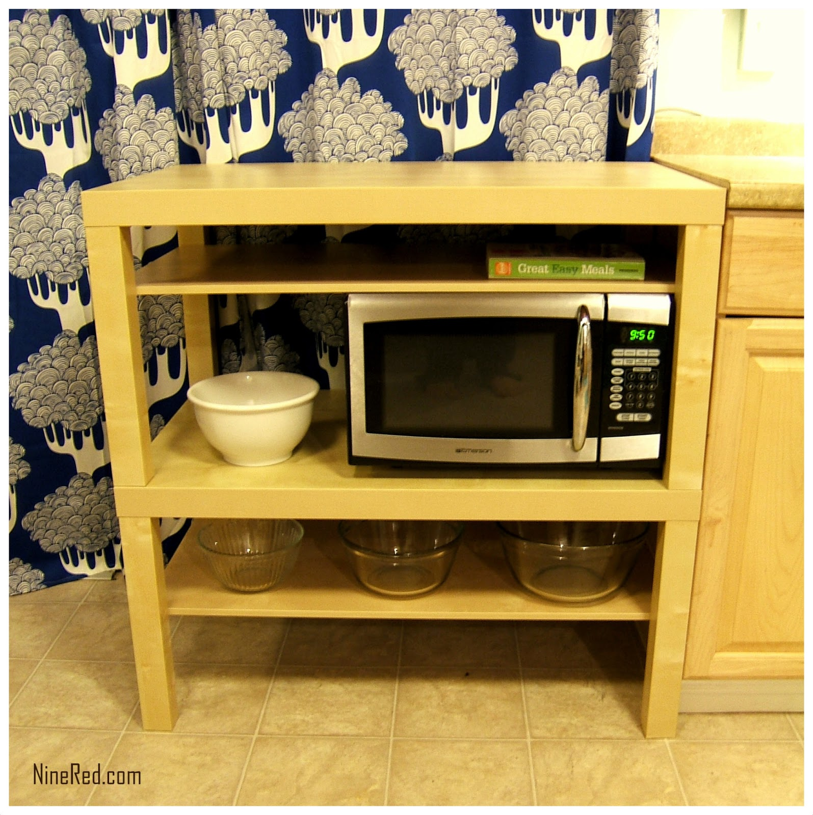 Kitchen Microwave Cart Ikea To Gives You Extra Storage In Your Walmart  Island Prep Table