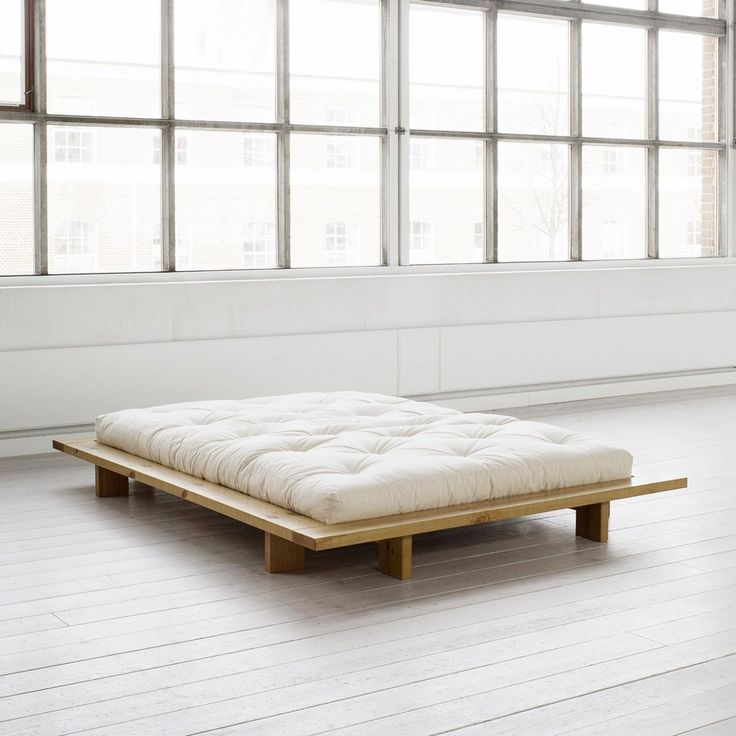 Simple And Modern Minimalist Bed Frame Design In Wood Material
