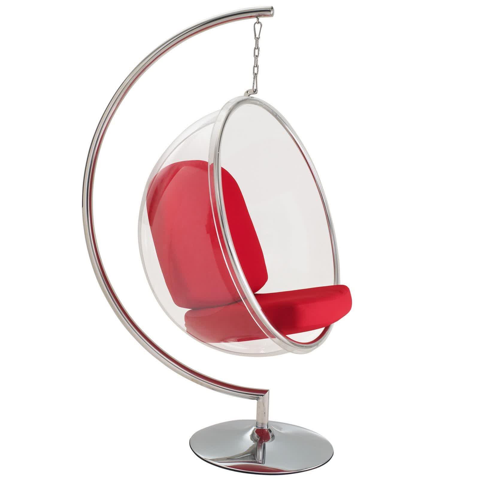 Great 30  Indoor Hanging Chair with Stand