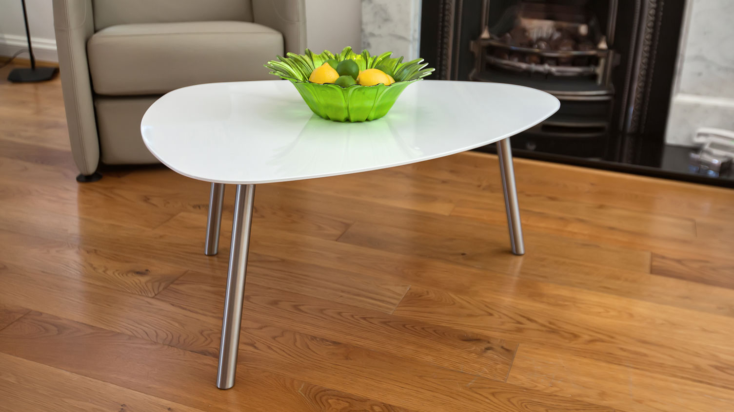 funky coffee tables, create more inviting look to your living room