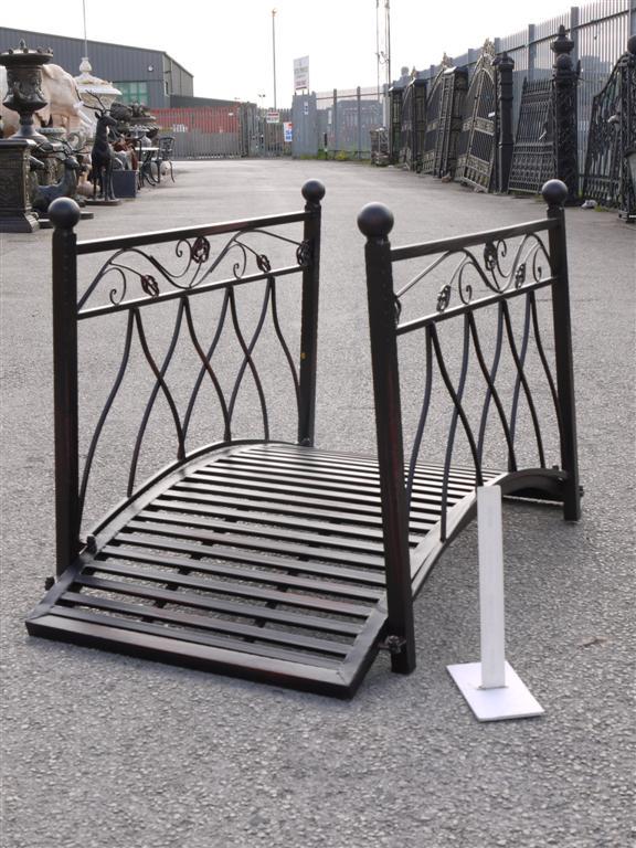 Superior Small Metal Bridge For Garden