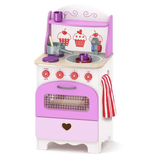 Wooden Toy Kitchens For Little 'Chefs'