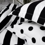 Soft Cotton For Black And White Polka Dot Sheets