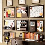 Some series of wall organizer for an office or a home office