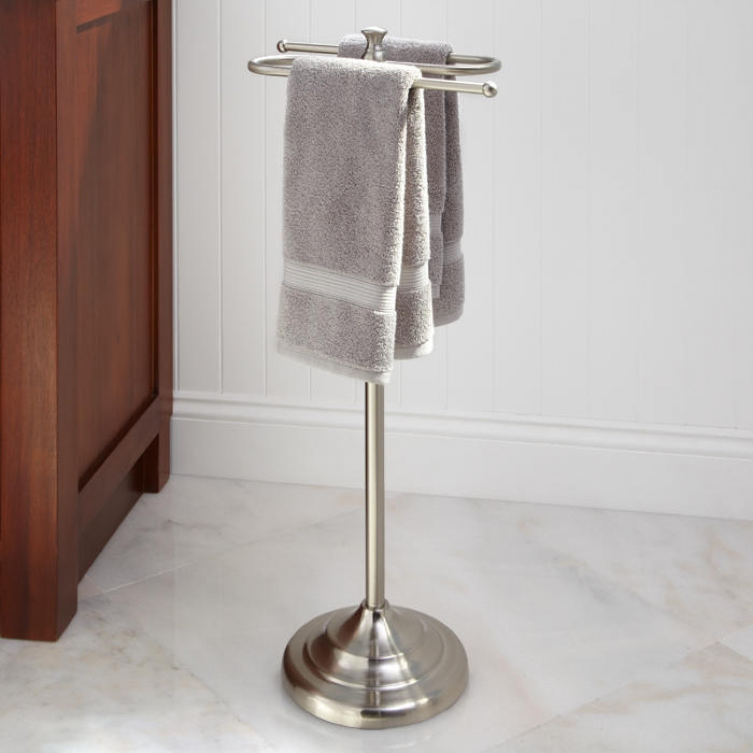 Hand Towel Holder Stainless Steel Made Hand Towel Stand Holder G