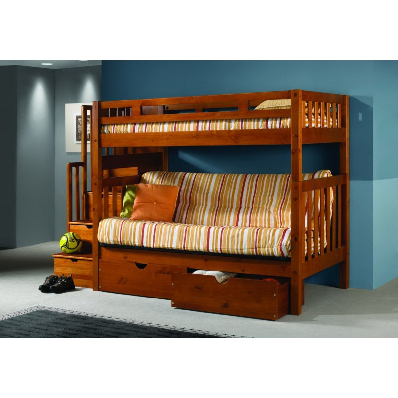 Sturdy bunk beds for adults homesfeed Futon couch bunk bed