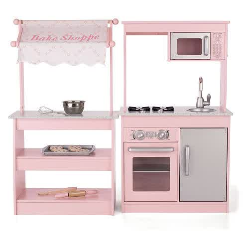 Wooden Toy Kitchens For Little Chefs