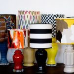 The series of handmade lampshades
