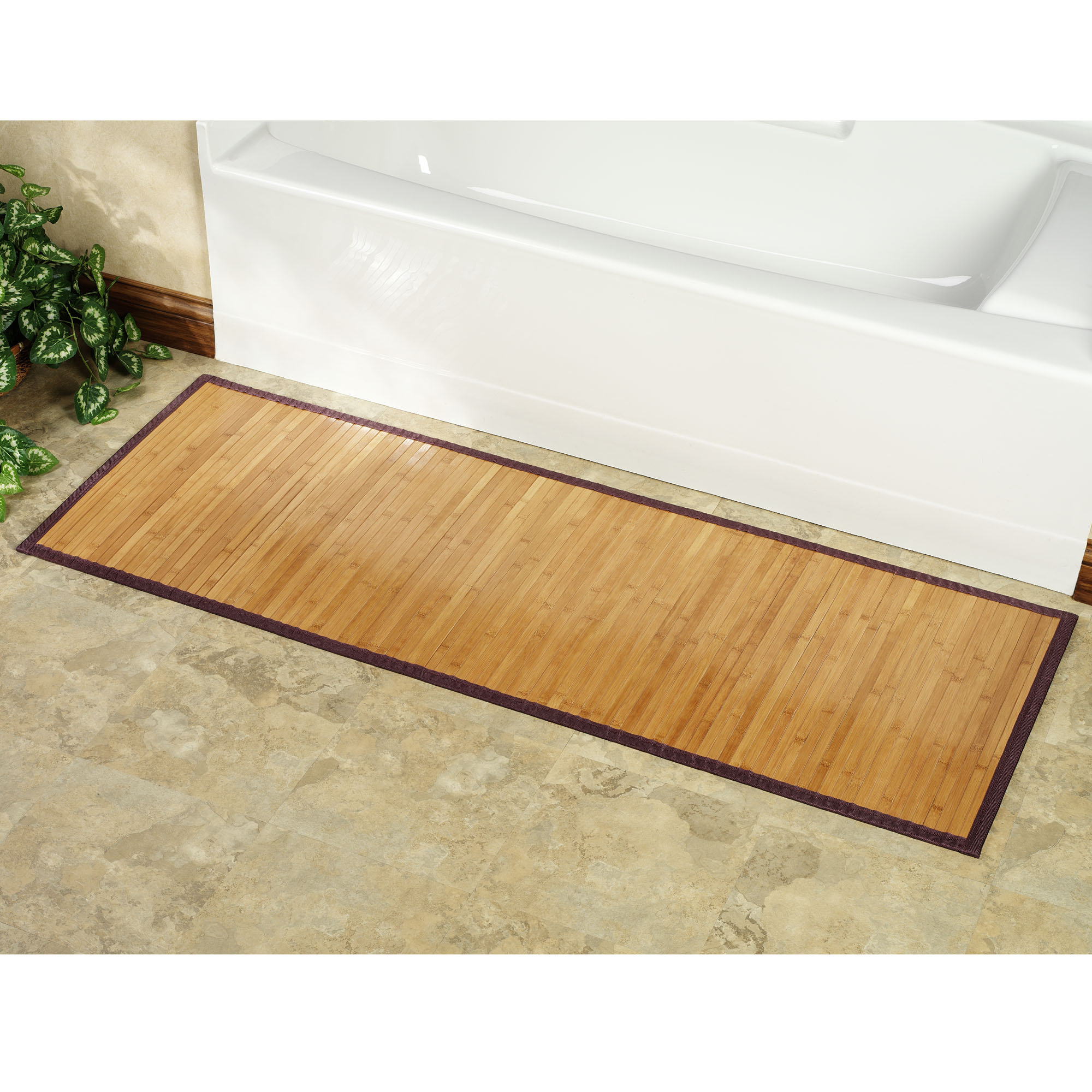 Bamboo Shower Mat The Point Pluses