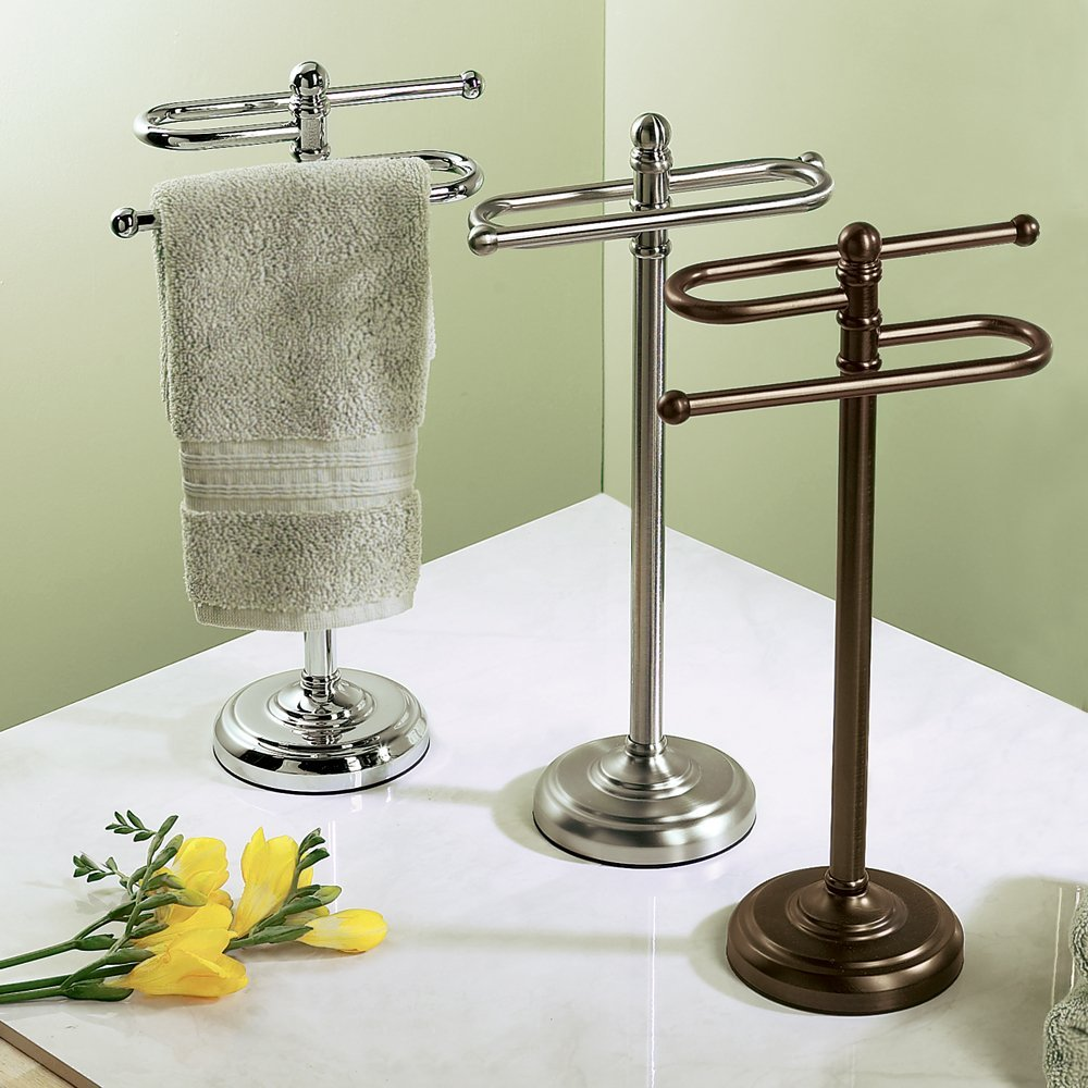 Free Standing Towel Racks For Bathrooms Home Design
