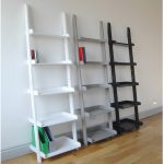 Triple Ladder Shelving Unit With Different Color