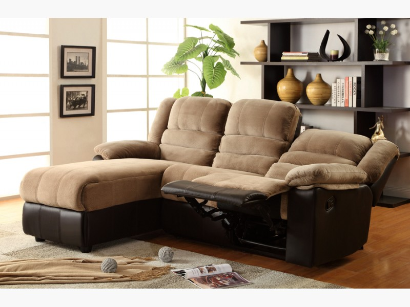 Chocolate Brown Microfiber Sofa Images