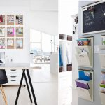 Two ideas of wall organizers for home office or office