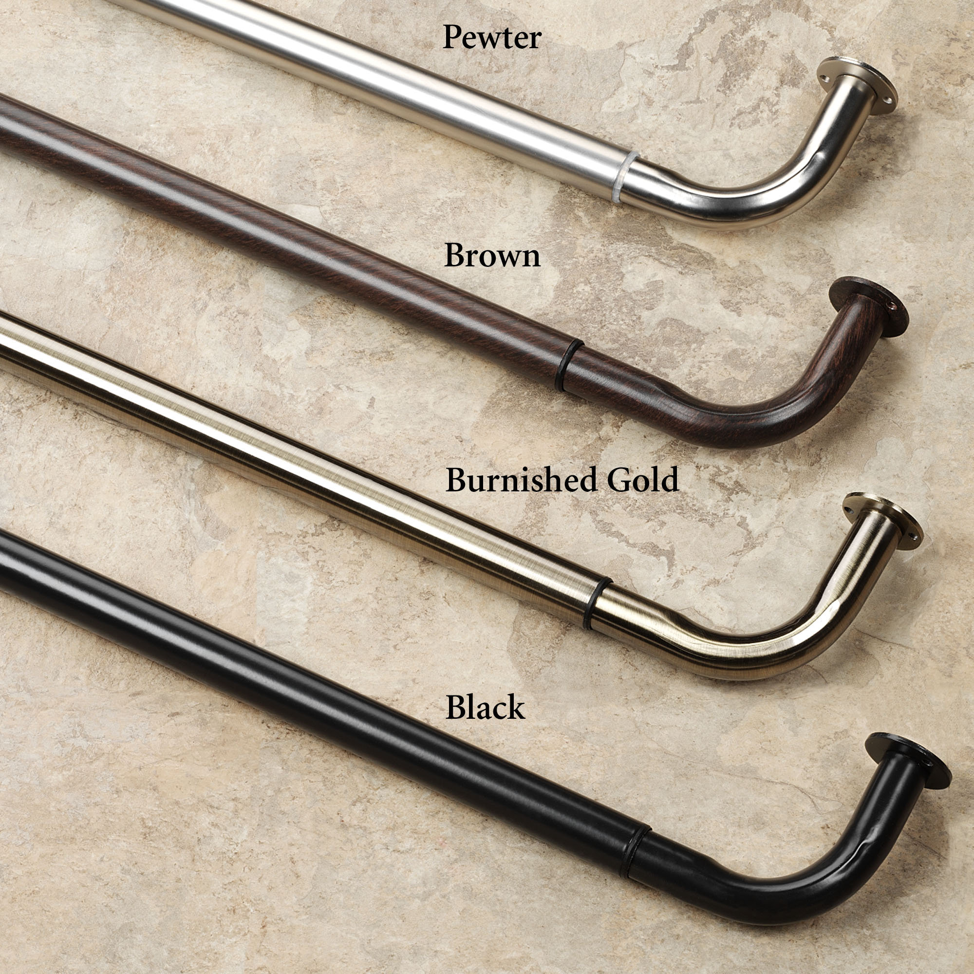 Wrought iron drapery rods - Wrought Iron Curtain Rods Best Types Of Curtain Rods Homesfeed Wrought Iron Curtain Rods