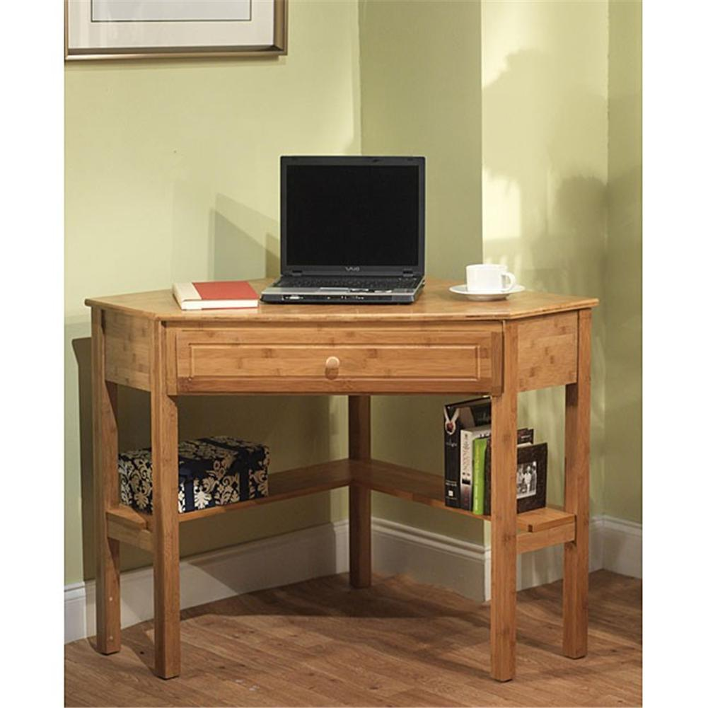 want to create space availability try these space saving computer desk selections homesfeed. Black Bedroom Furniture Sets. Home Design Ideas