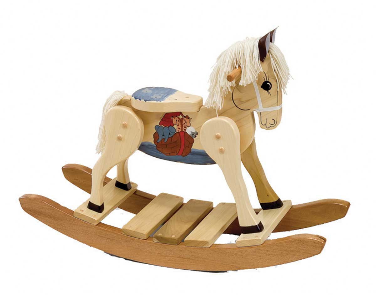 Wooden Rocking Horse ~ Best rocking horses for toddlers homesfeed