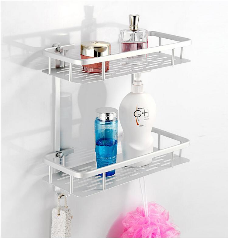 Simple Shampoo Rack for Shower | HomesFeed