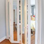 White Bifold Closet Doors Ikea With Glass