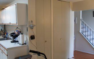 White Long Bifold Closet Doors Ikea