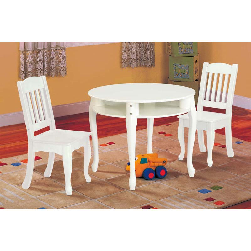 White Round With Storage Of Table And Chair Set For Toddlers And Cool Rug  sc 1 st  HomesFeed & Perfect Table And Chair Set For Toddlers | HomesFeed