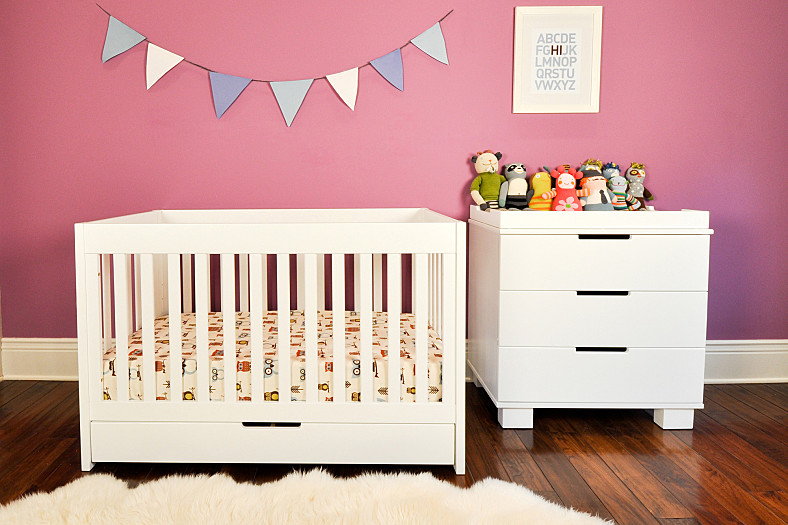 Incroyable White Baby Crib With Storage By Letto Hudson A Unit Of Storage Solution In  White With