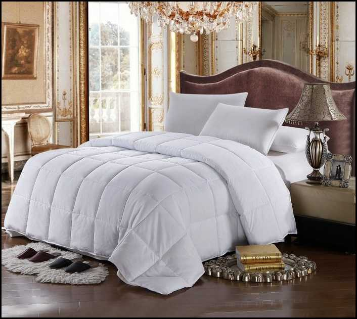 cal king down comforter product selections homesfeed. Black Bedroom Furniture Sets. Home Design Ideas