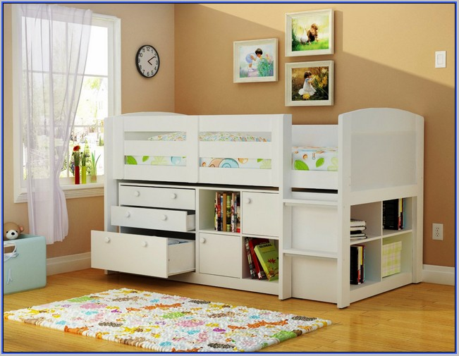 Kids Furniture Toddler Beds With Storage