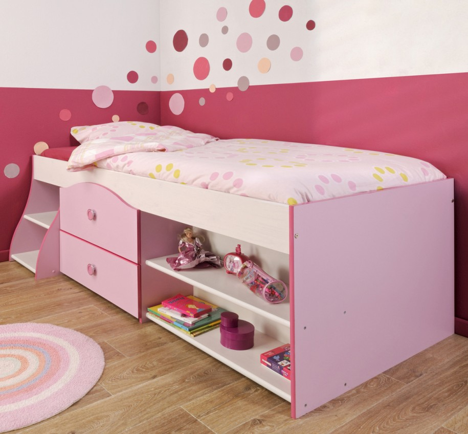 Kids furniture toddler beds with storage homesfeed for Kids bed design