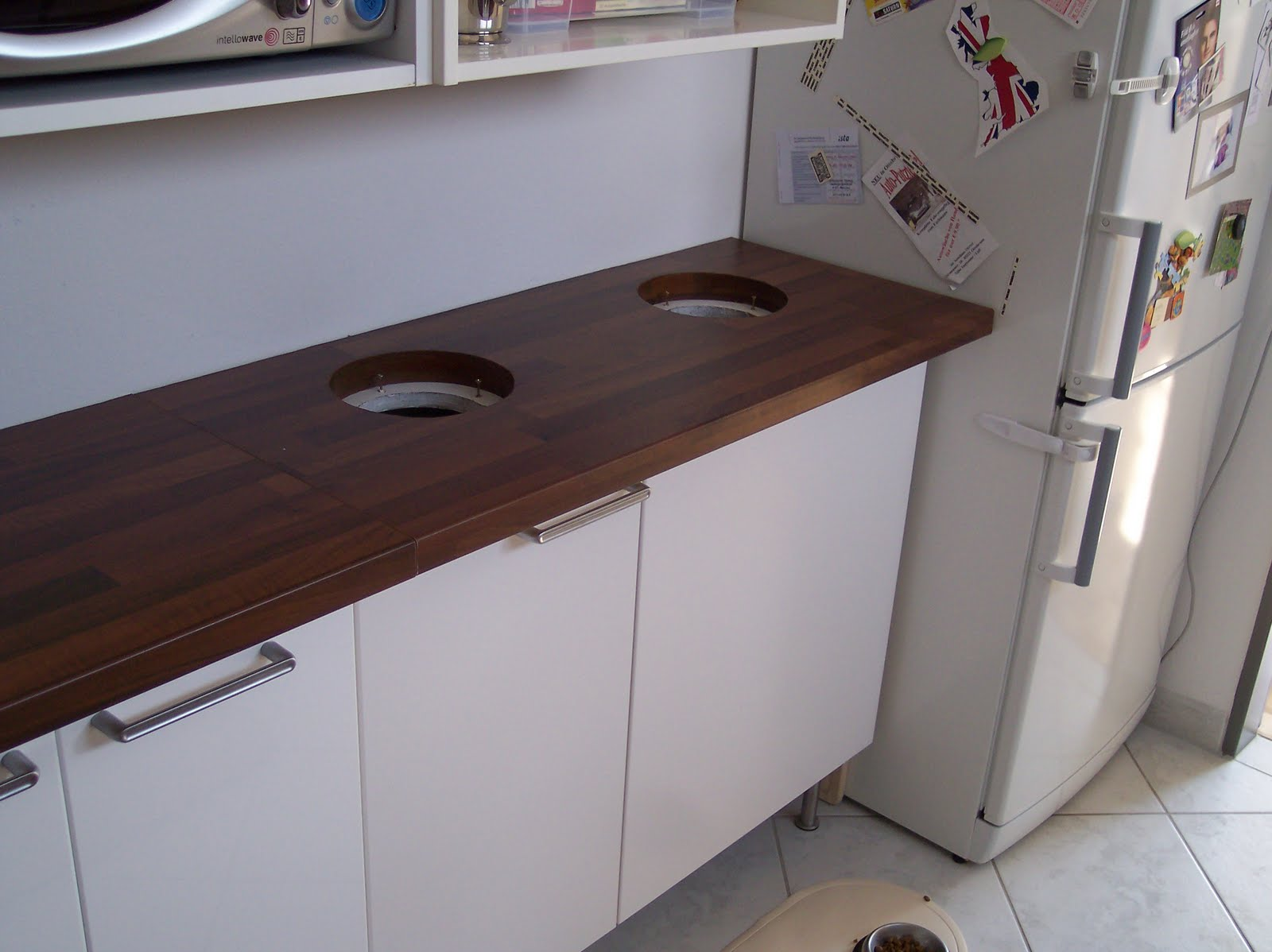 Perfect ikea recycle bins homesfeed for Cupboard in the kitchen
