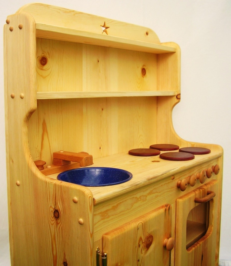 wooden kids wood play kitchen sets