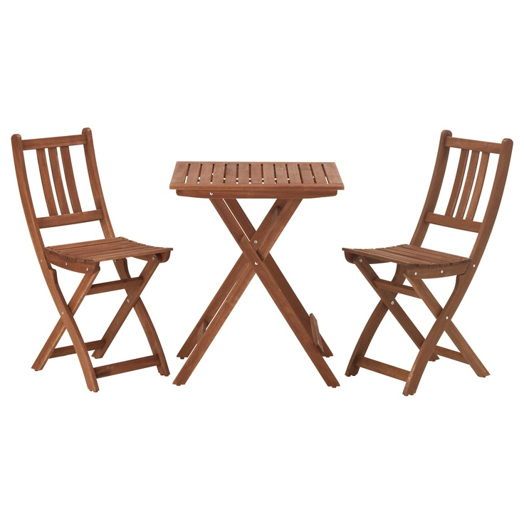 Wooden Outdoor Bistro Set Ikea With Double Chairs  sc 1 st  HomesFeed & Beautiful Outdoor Bistro Set Ikea | HomesFeed