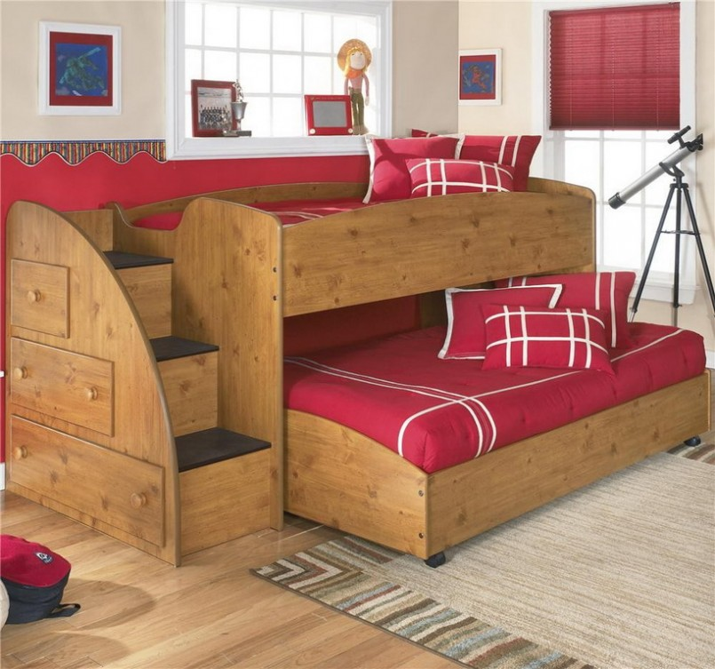 Good small bunk beds for toddlers homesfeed for Kids bed design