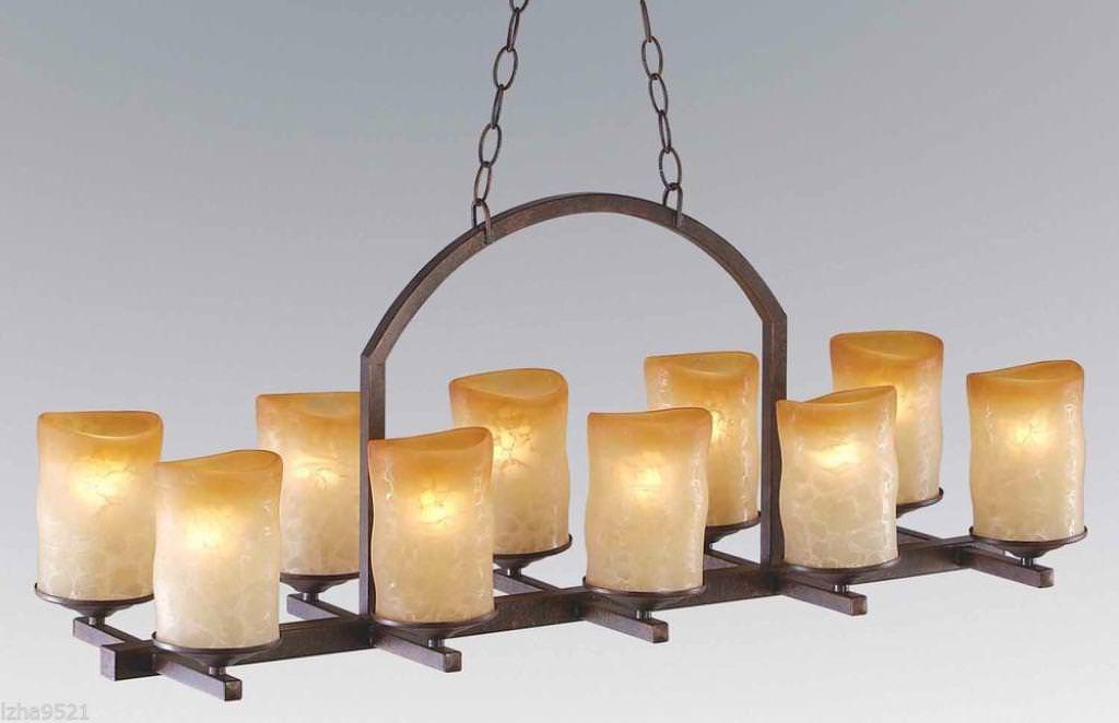 Beautiful real candle chandelier homesfeed wrought iron real candle chandelier with 10 candles mozeypictures Image collections
