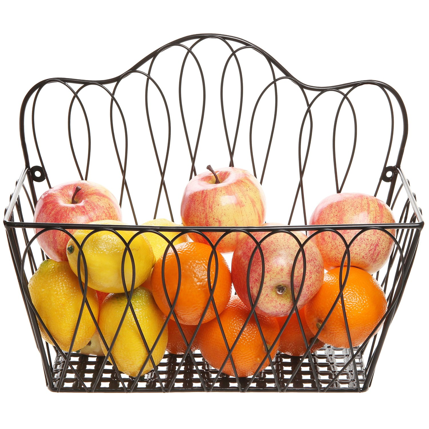 Cool Wall Mounted Fruit Basket