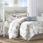 lake house bedding set with animal sea motifs